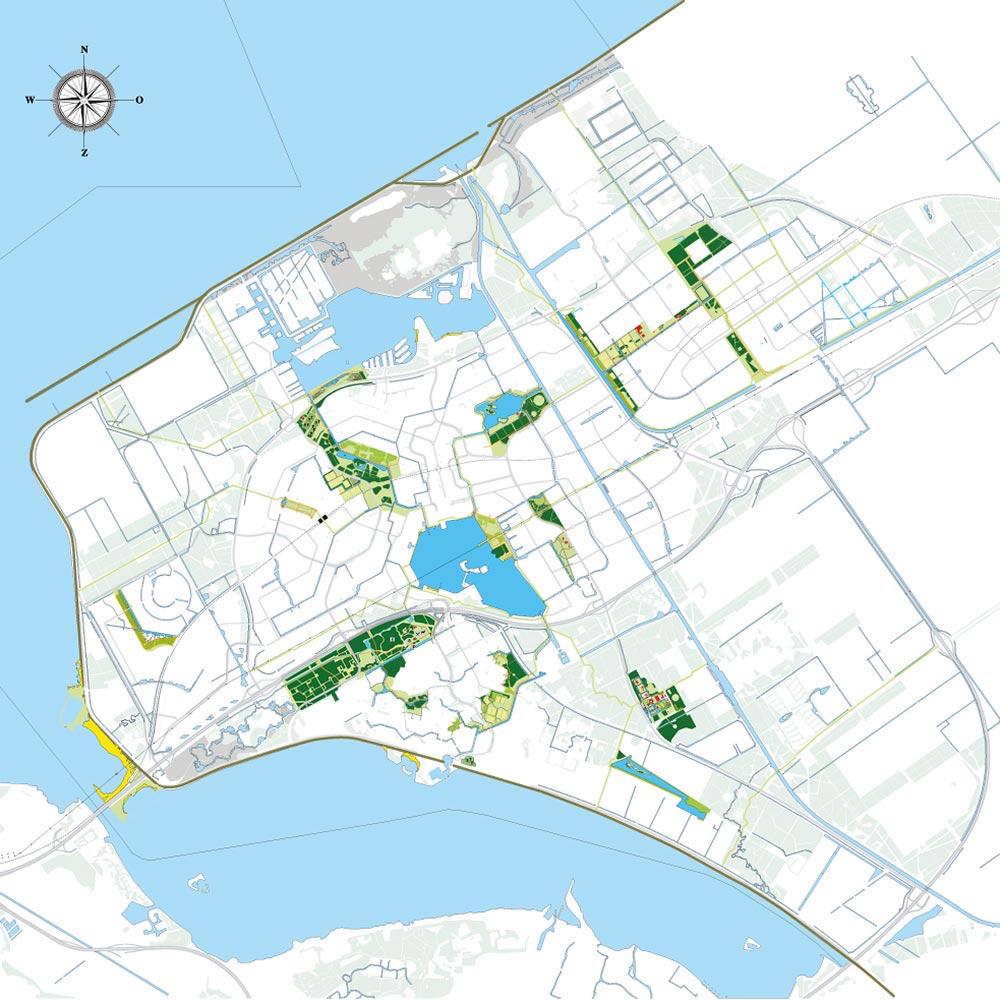 almere-overzichtskaart