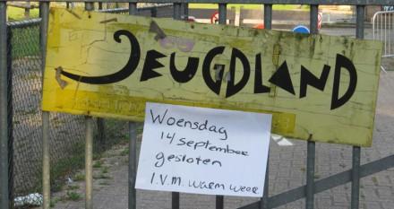 Bos der Onverzettelijken - Jeugdland gesloten wegens de warmte