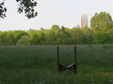 Kunstwerk Vervoort en Carlton-tower