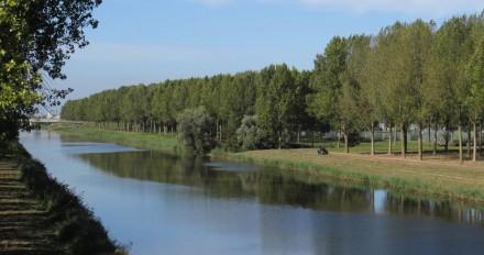 Noordelijke deel Lage Vaartpark Vanaf 3e Geuzenbrug