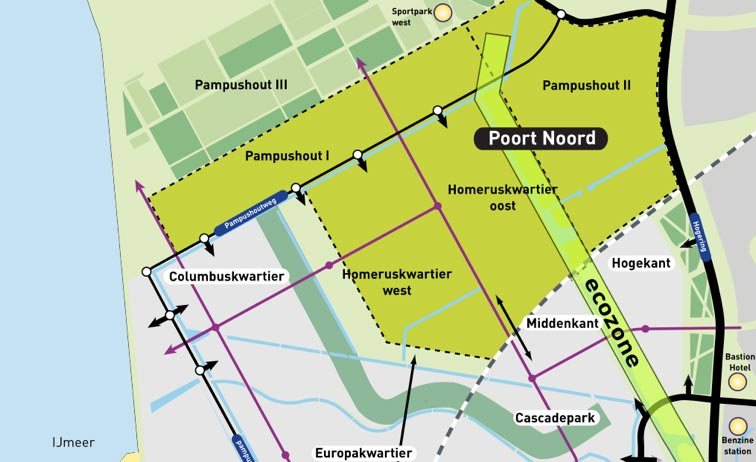 Bron: structuurvisie Poort Noord (2006)
