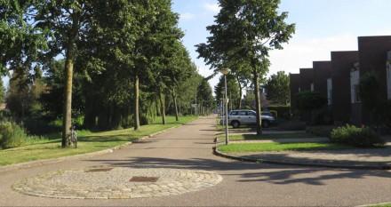 Parkrand langs Lubitschstraat