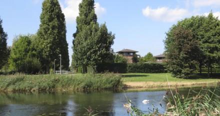Zuidrand met woningen aan Ed van der Elskenhof