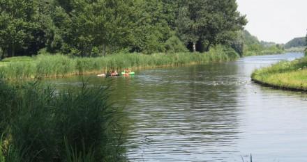 Waterpret langs Oostzijde Vliegerpark